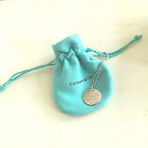 "Tiffany & Co. ""B"" Necklace"